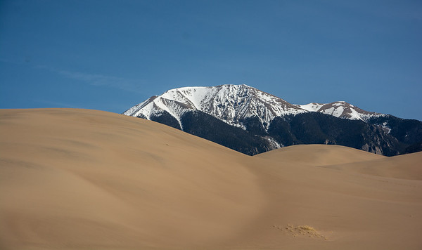 Penitente and Sand Dunes