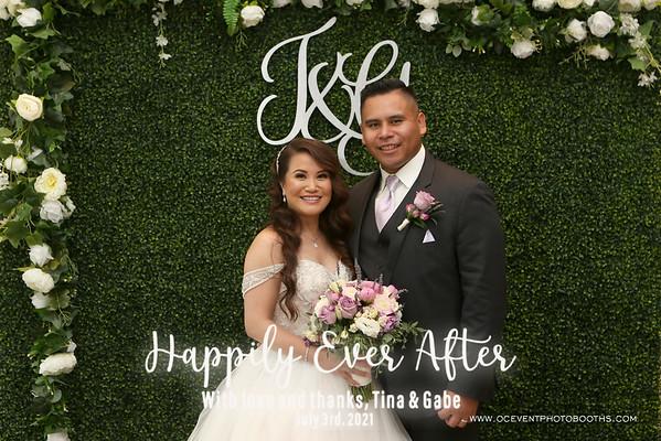 Tina & Gabe Wedding 07/03/21