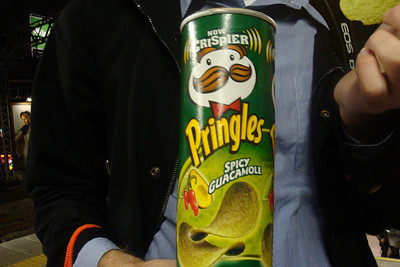 Spicy Guacamole flavored Pringles from Japan | Courtesy of Andrew Yuille