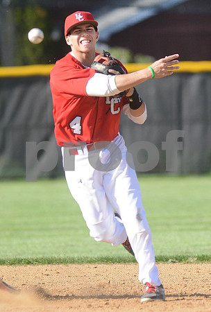 The York High School baseball team took on Hinsdale Central in Elmhurst Monday afternoon