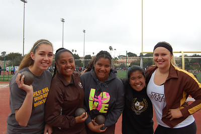 Shot Put Teams (by Jeff)