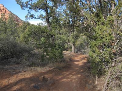 Left Fork North Creek, Kolob Terrace UT - 12/12/2012