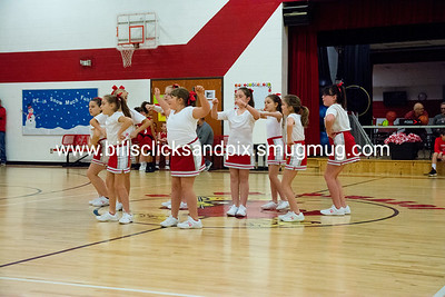 Kingston Springs Cardinals 5th Grade Cheerleaders Vs Ashland City