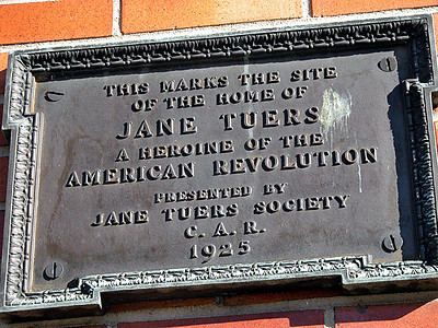Jane Tuers Home Site * and Grave *
