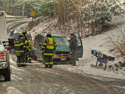 1-28-13 MVA With Injuries, Aqueduct Road