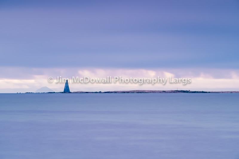 Horse Island Beacon River Clyde Scotland
