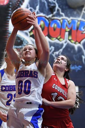 Central Linn vs. Coquille Girls High School Basketball