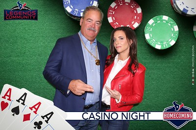 October 26, 2019 - Texans Legacy Community Homecoming Casino Night