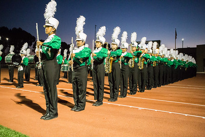 10-14-16 Mesa Band and Color Guard