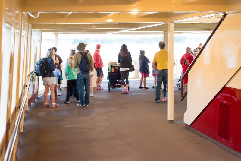 Uncrowded Ferry Boat - Magic Kingdom Walt Disney World