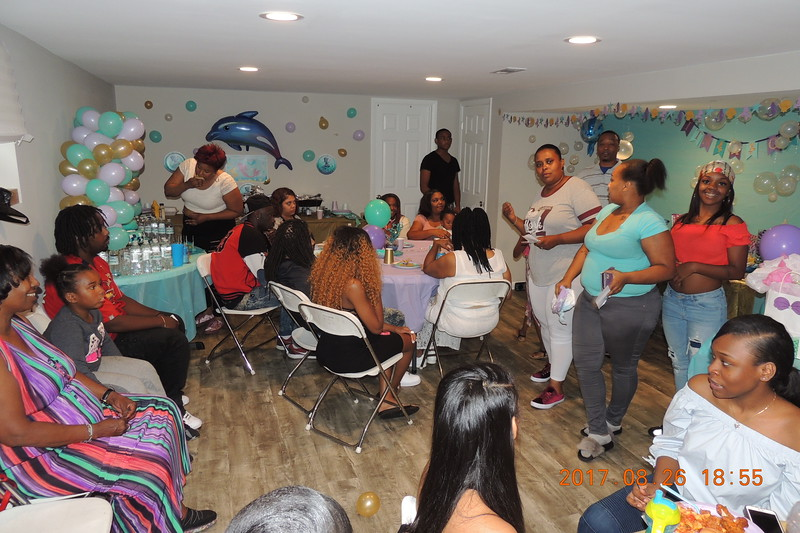 20170826 Dominique Hall's Baby Shower