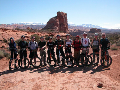Moab Mountain Unicycling Festival