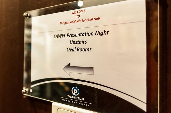 SAWFL Presentation Night 2014