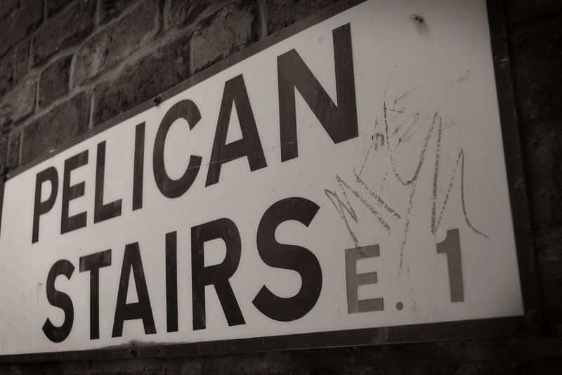 Pelican Stairs, E1