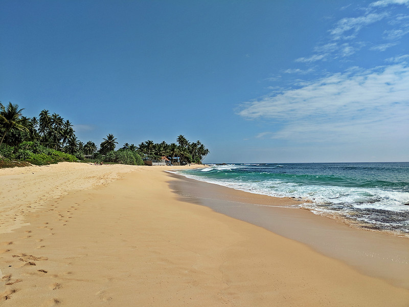 Affordable Beach Destination - Dalawella Beach, Sri Lanka