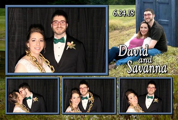 David And Savanna's Wedding