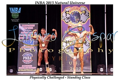 2013 INBA Natural Universe in Chicago, IL.