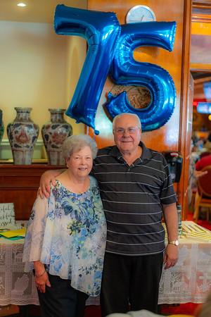 Jim Shahan - 75th Birthday