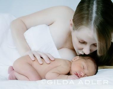 Baby Ethan and Rachel
