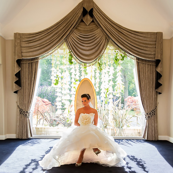 contemporary bridal photography