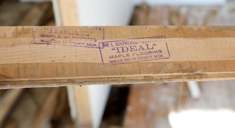 "I. Stephenson ""Ideal"" Maple Flooring, Wells, Delta County Michigan"