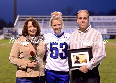 Lampeter-Strasburg Varsity Football v. Lebanon 10.26.12 (Senior Night)