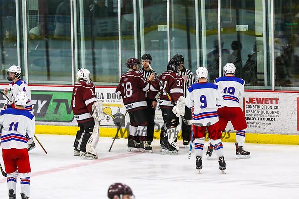 2020-1-27 WHS Boys Hockey vs Portsmouth-Newmarket