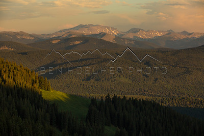 Mt. Massive in the Northern Sawatch Range, CO