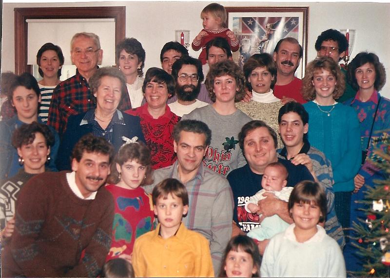 Cerne Clan 1/1/87 at Thompson Farm