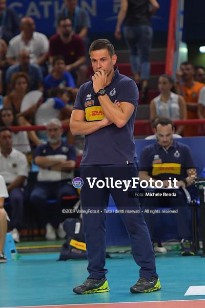 ITALIA vs SERBIA, 2019 FIVB Intercontinental Olympic Qualification Tournament - Men's Pool C IT, 11 agosto 2019. Foto: Michele Benda per VolleyFoto.it [riferimento file: 2019-08-11/ND5_7243]