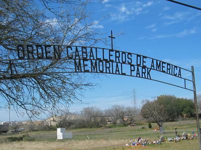 Orden Caballeros De America Memorial Park