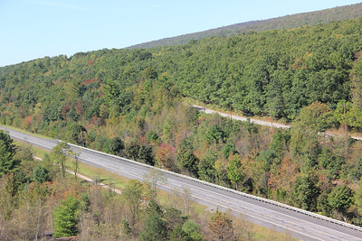 View From Top of Coal Mountain, Schuylkill Township (9-25-2012)