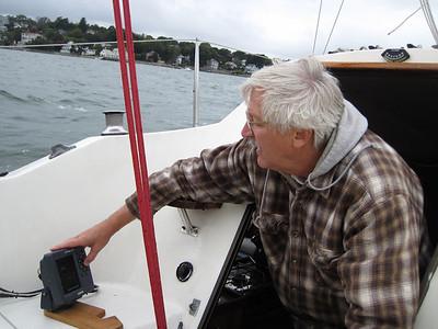 Sailing on Kate - 9-26-10