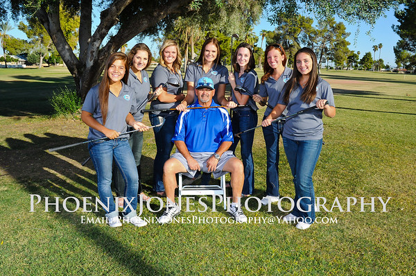 2013 Cactus Girls Golf Team