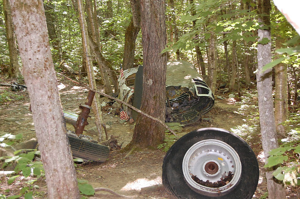 Journal Site 201: 1963 B-52 Crash Site, Elephant Mountain, Moosehead Lake Area, Maine - July 24, 2011