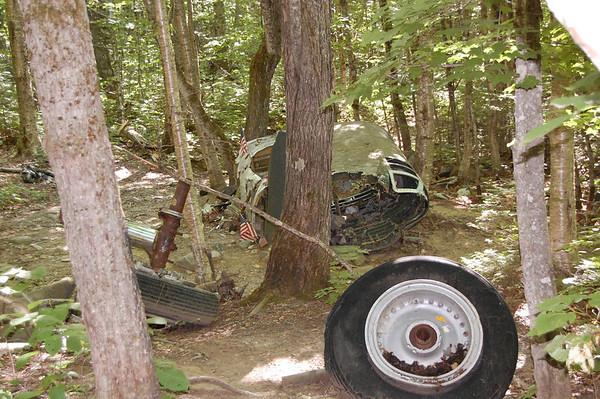 Journal Site 201: 1963 B-52 Crash Site, Elephant Mountain, Moosehead Lake Area, Maine - July 24, 2011