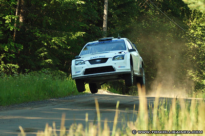 04.07.2007 | Mikko Hirvonen Rally Finland tests