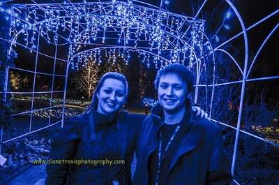 Garden Festival of Lights ~ Lewis Ginter Botanical Garden ~ Dec 2012
