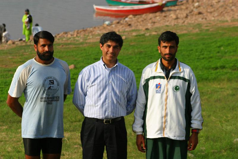Farasat Ali, Ahsan Iqbal and Naimat Kareem, a very tough and competitive lightweight.