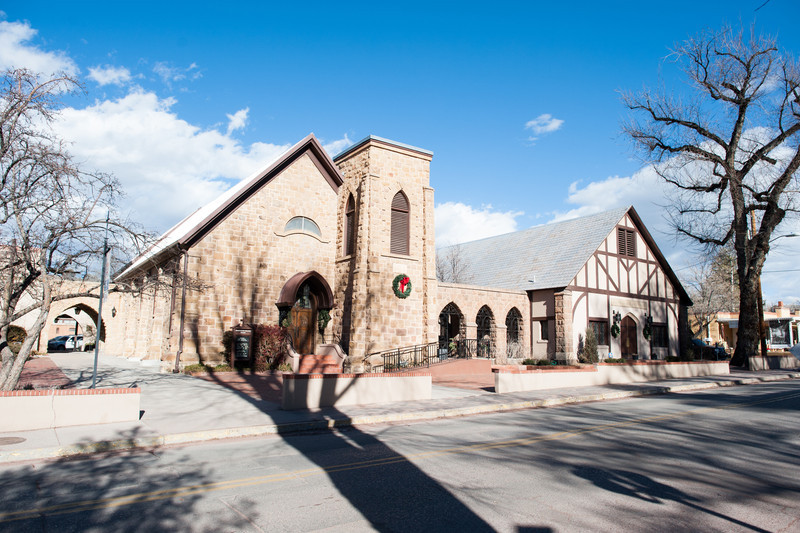 Church of the Holy Faith Episcopal, Santa Fe.