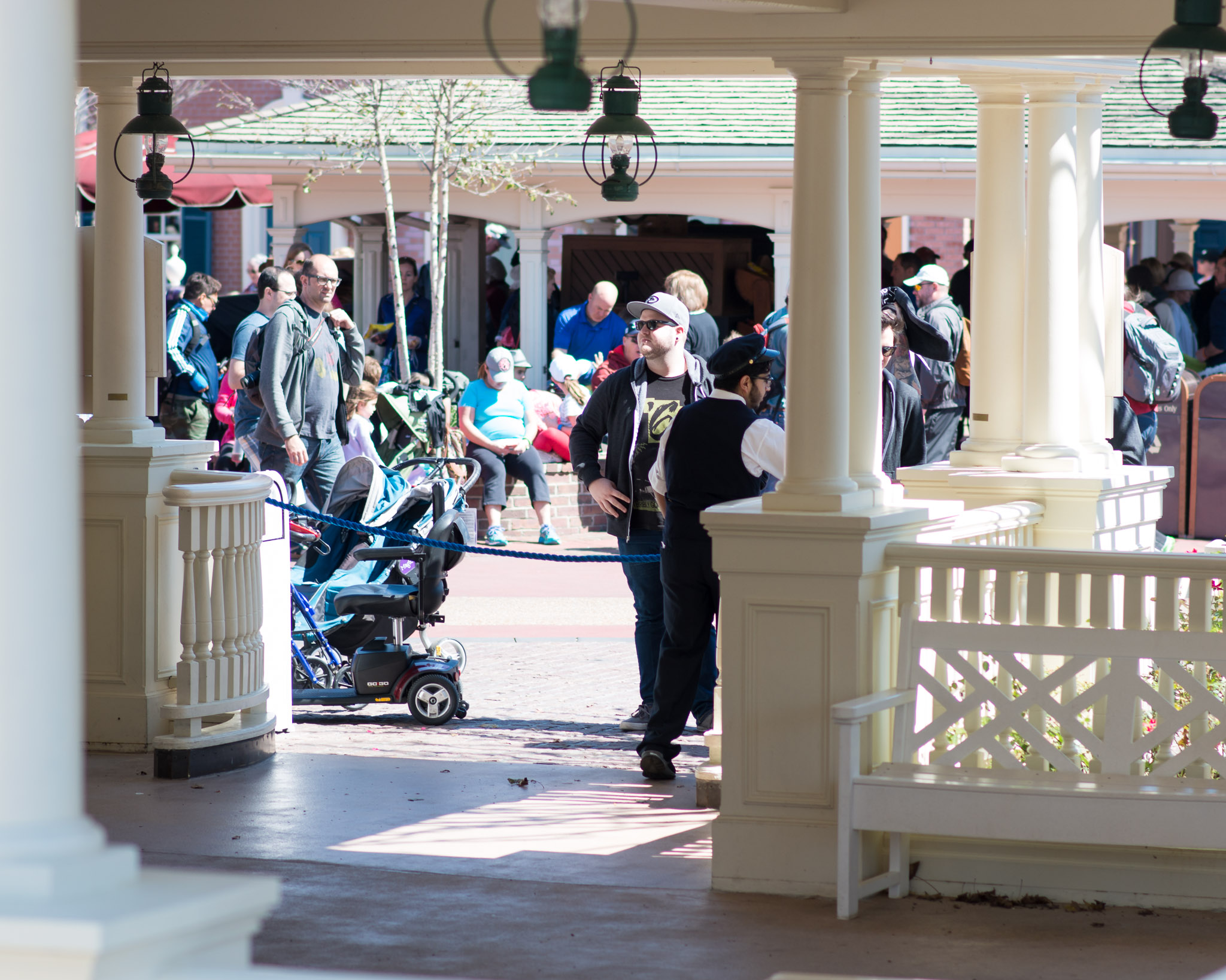 Liberty Belle Rope Closed - Walt Disney World Magic Kingdom