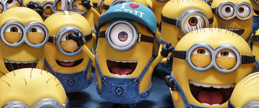 ". The Minions and ""Despicable Me 3\"" are in theaters June 30. (Illumination and Universal Pictures via AP)"