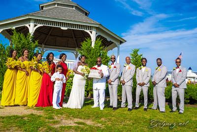 The Worthy's Wedding  July 27 2019