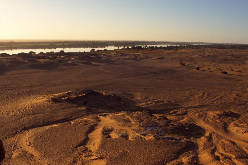Der Nil bei Dongola