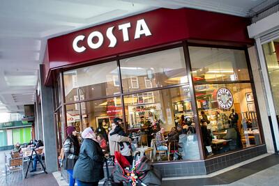 Costa Cafe, Ealing Broadway, London, United Kingdom