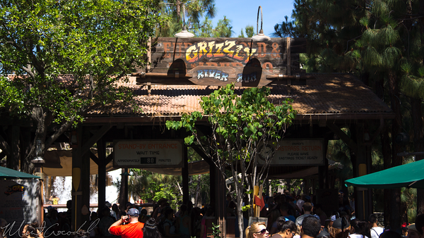 Disneyland Resort, Disney California Adventure, Grizzly, River, Run