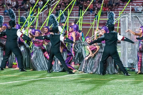 October 6, 2017 - Football - Palmview vs Juarez-Lincoln - JLHS Band Cheer_LG