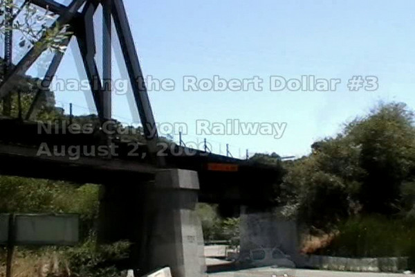 Chasing, then riding the Robert Dollar #3;  August 2, 2009