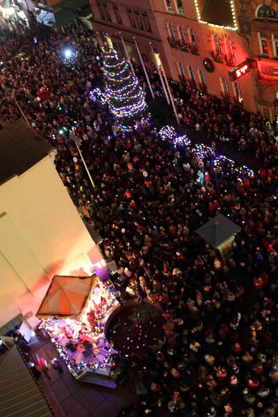Downtown Cumberland Christmas Tree Lighting 2011