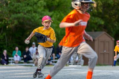 Sun Devils vs. Tigers (Old Rochester Little League)